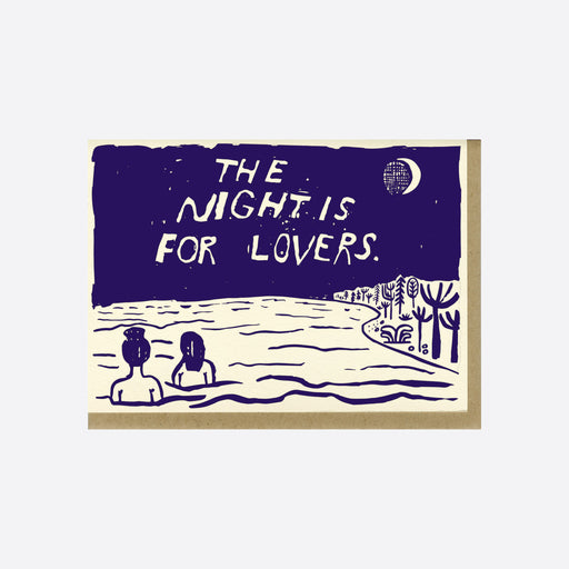 People I've Loved 'The Night is for Lovers' Card