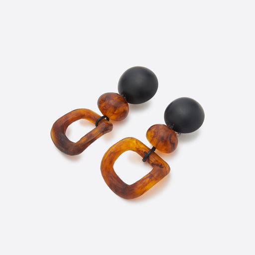 Valet Studio Leona Earrings in Tortoise