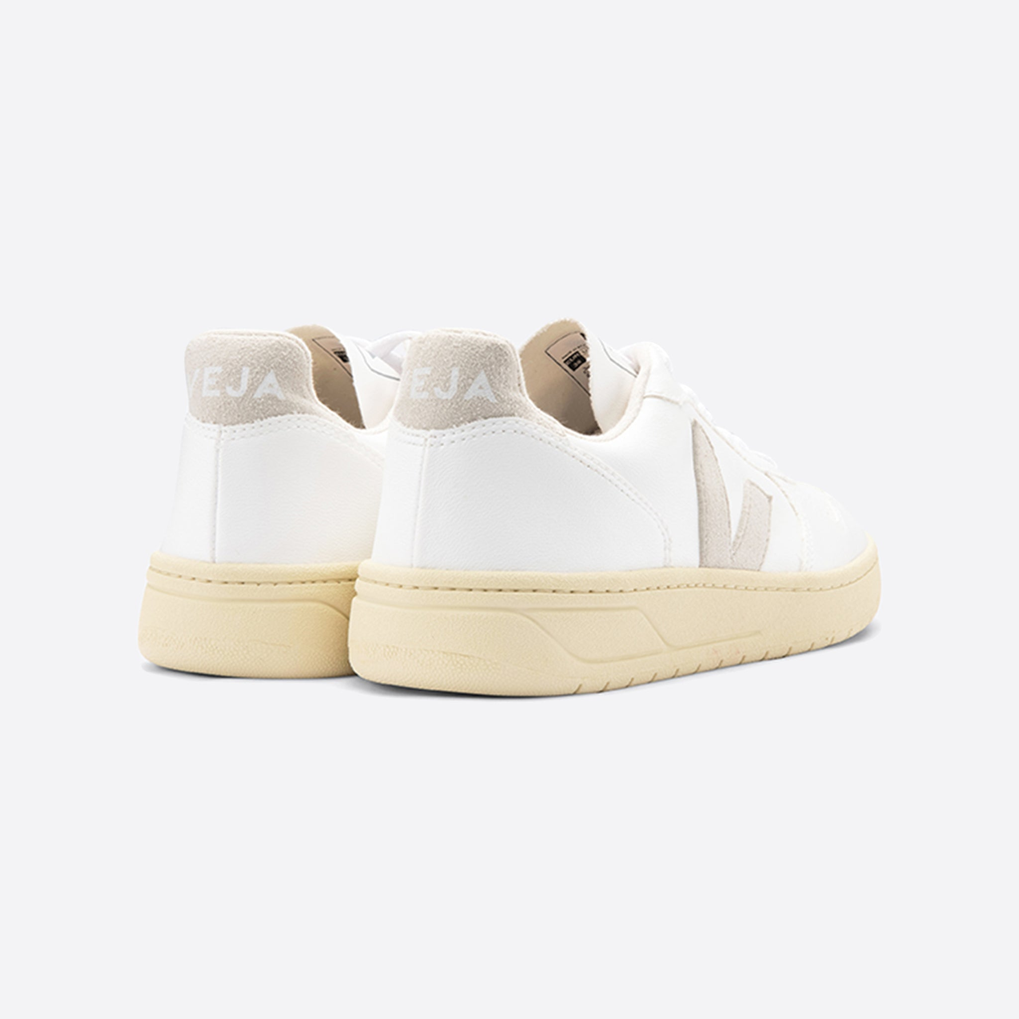 Veja V-10 White Vegan Leather Butter-Sole