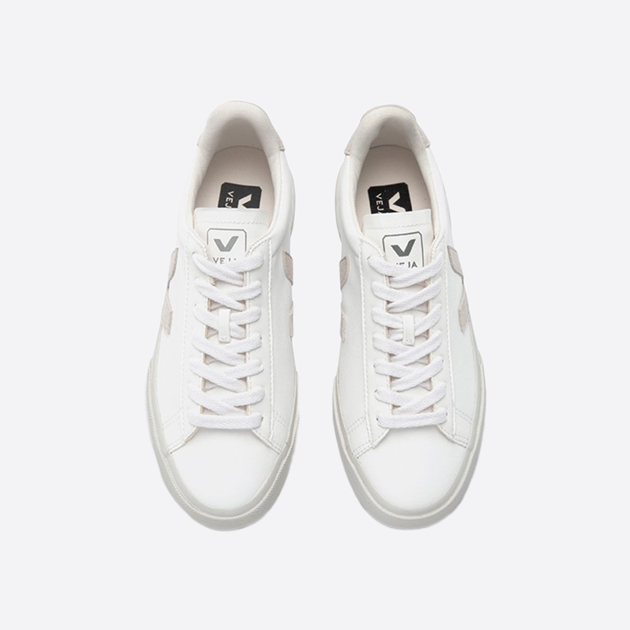 Veja Campo Chromefree Leather White Natural