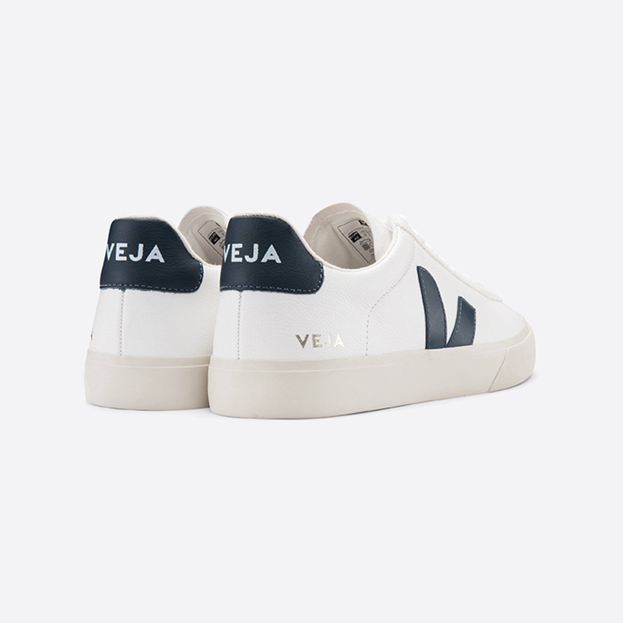 Veja Campo Chromefree Leather White Nautico