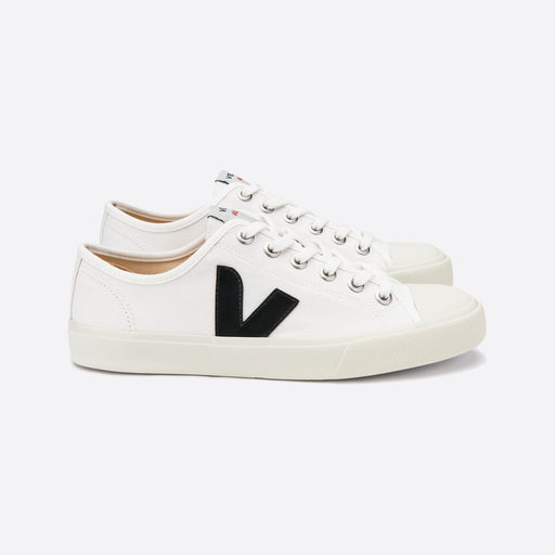 Veja Wata Canvas White Black