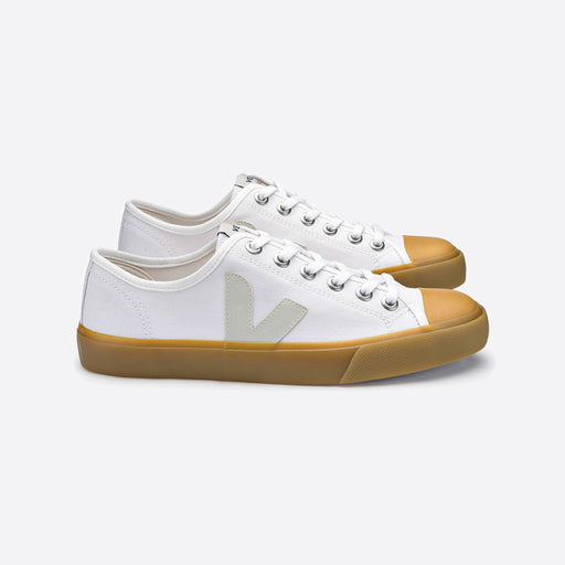 Veja Wata Canvas White Natural Sole