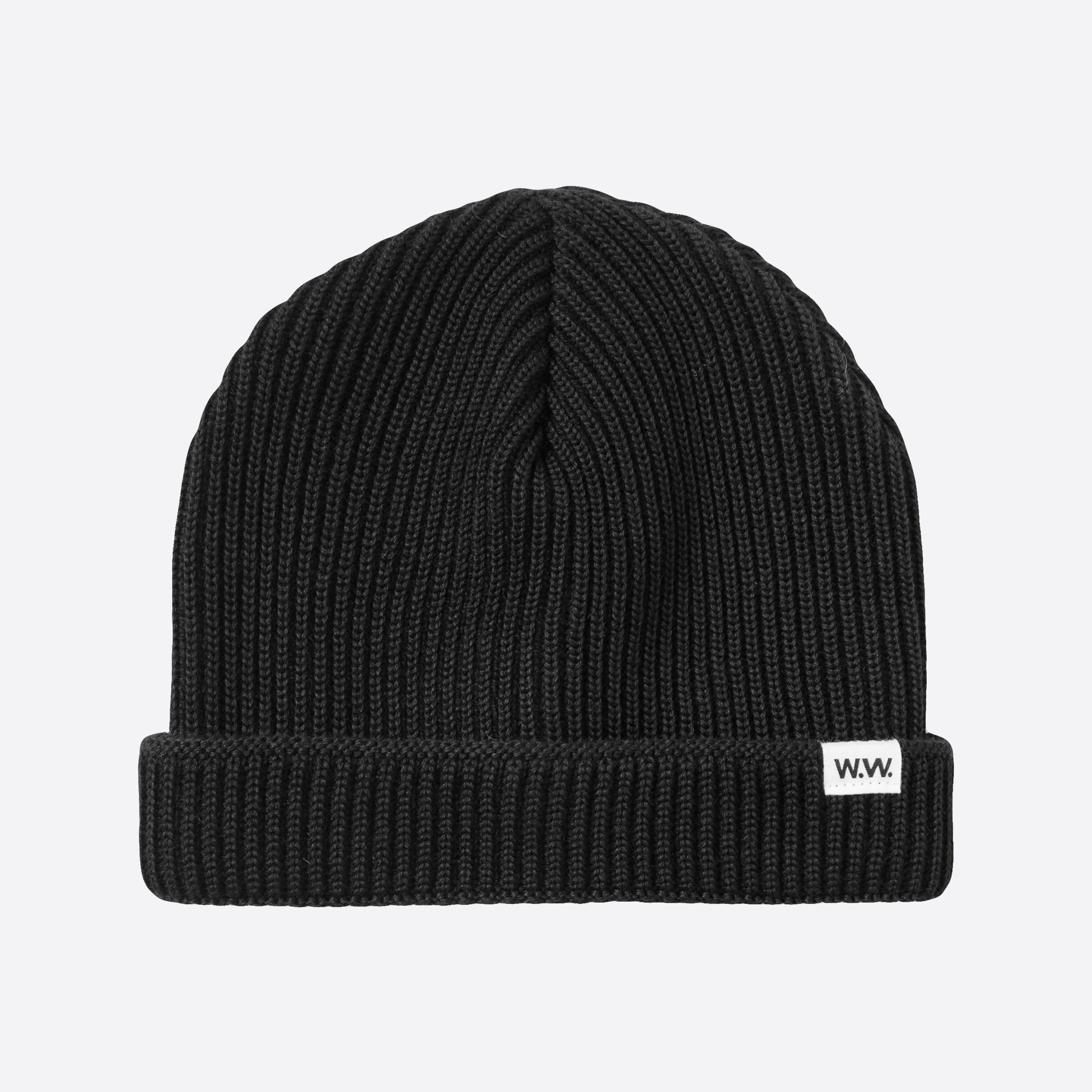Wood Wood Daci Beanie in Black