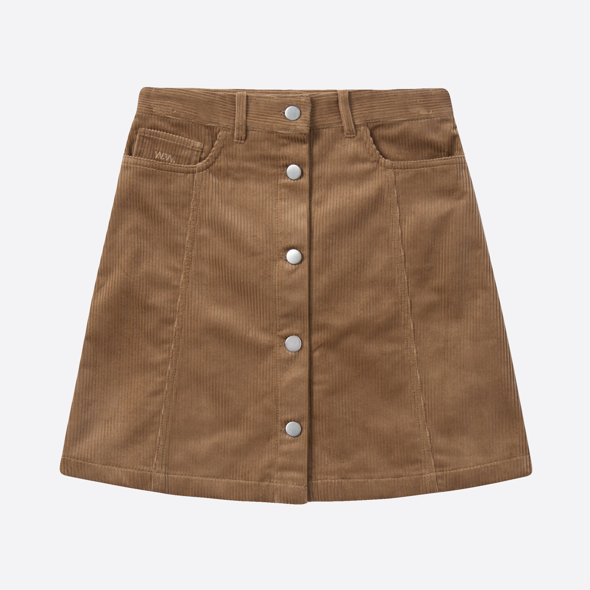 Wood Wood Addie Skirt in Khaki