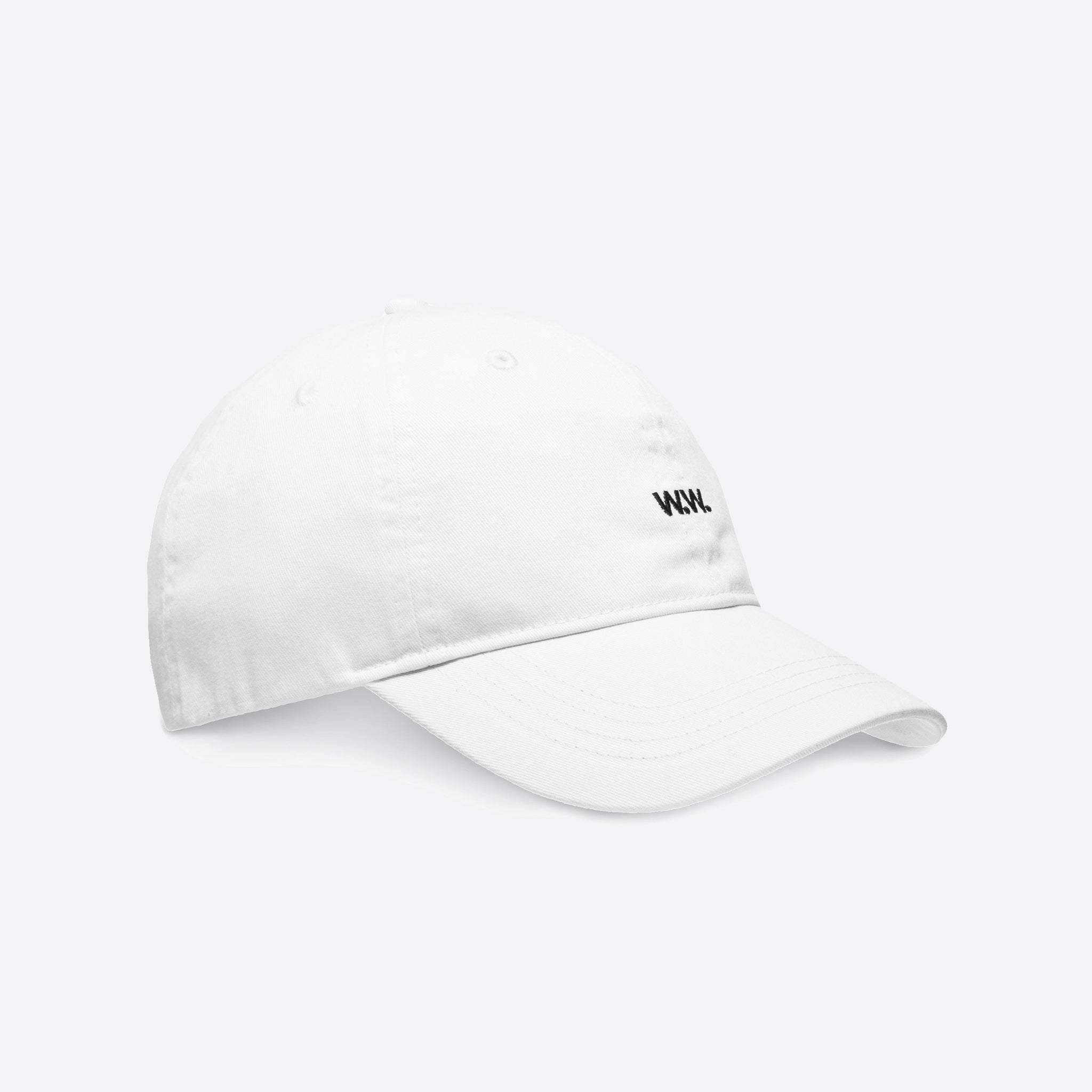 6f2613c342d Wood Wood Low Profile Cap in Off White — Our Daily Edit