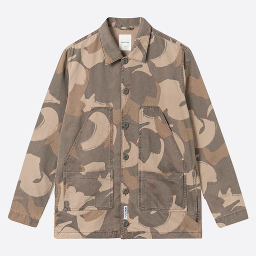 Wood Wood Fabian Shirt in Brush Camo