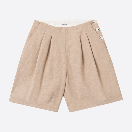 Wood Wood Birgit Shorts in Khaki