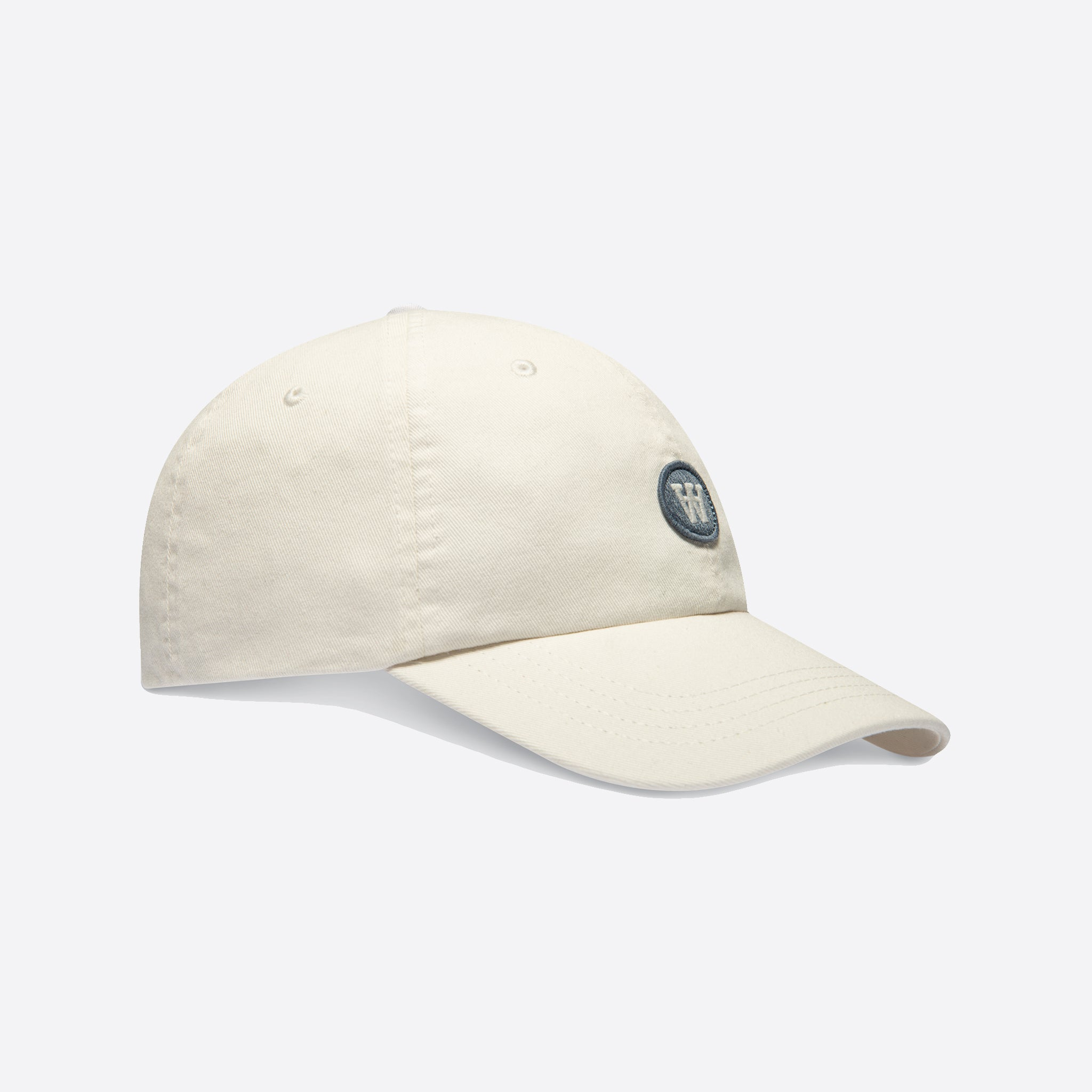 Wood Wood Eli Cap in Off White
