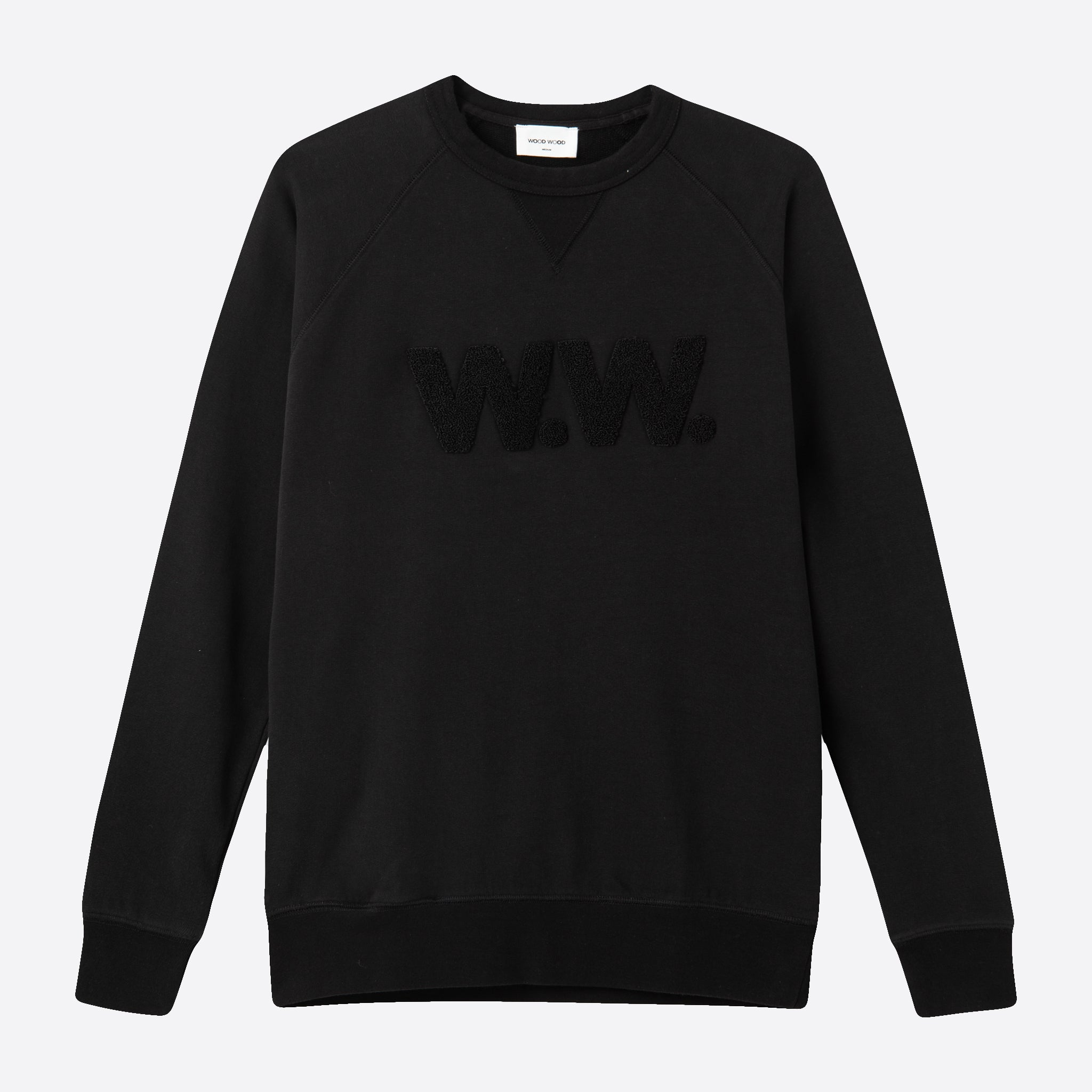 Wood Wood Hester Sweatshirt in Black