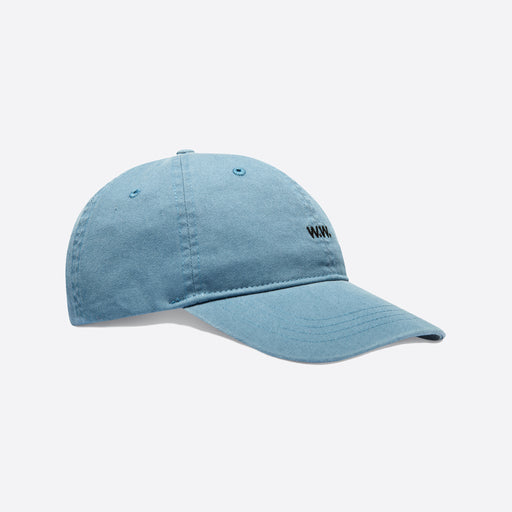 Wood Wood Low Profile Cap in Dusty Blue
