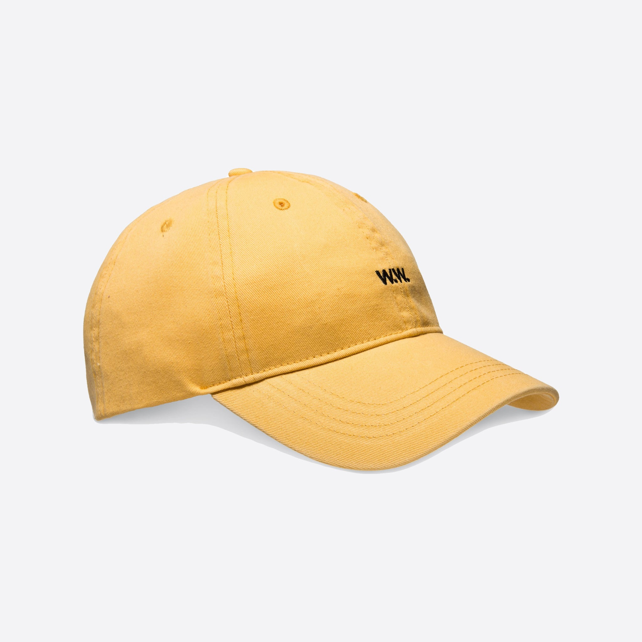 Wood Wood Low Profile Cap in Yellow — Our Daily Edit 84be23ed4f51