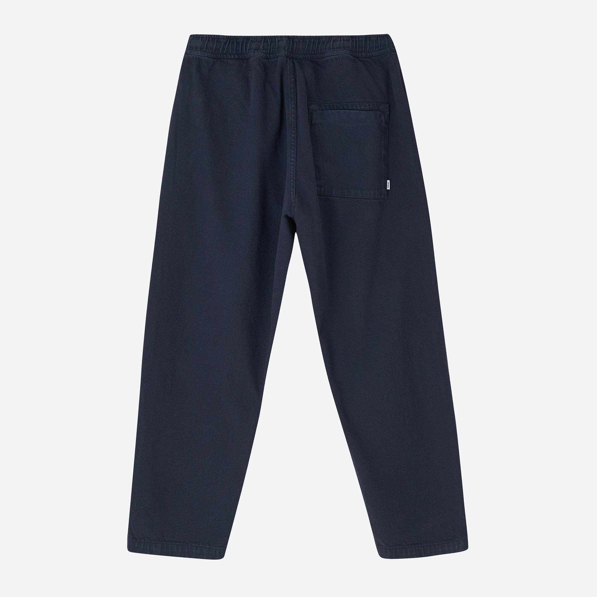 Wax London Kurt Trousers in Heavy Navy Denim