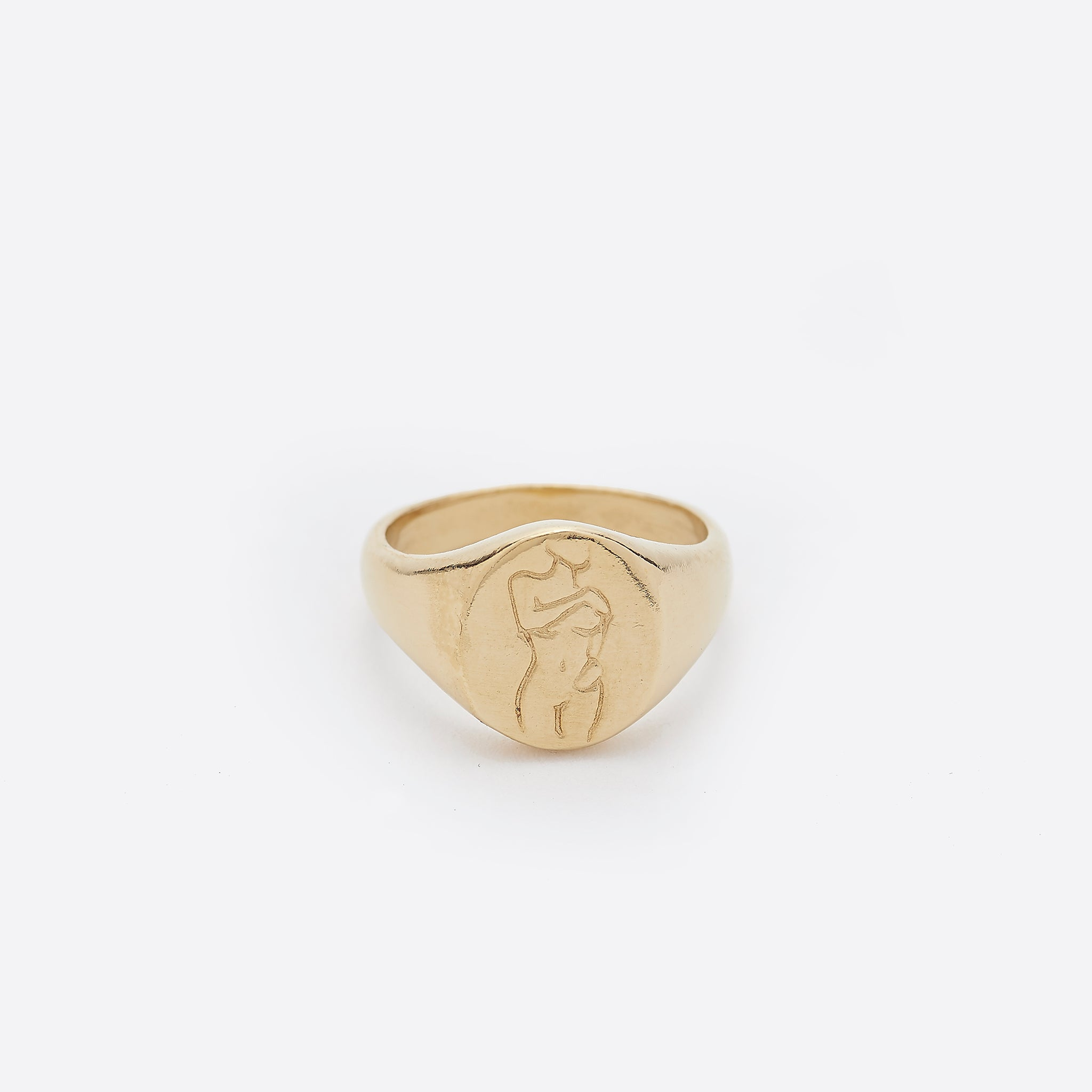 Wolf Circus Femme Ring in Gold