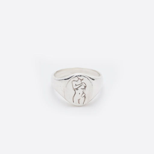 Wolf Circus Femme Ring in Silver