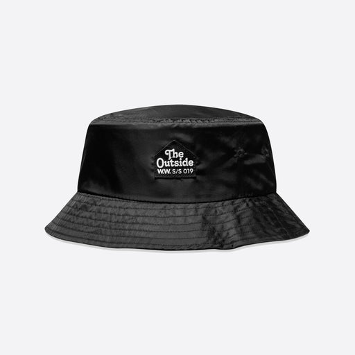 Wood Wood Bucket Hat In Black