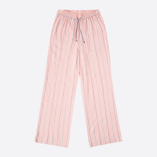 Wood Wood Darla Trousers in Light Rose Stripe
