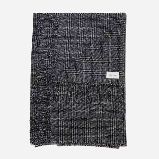Wood Wood Kara Scarf in Black Check