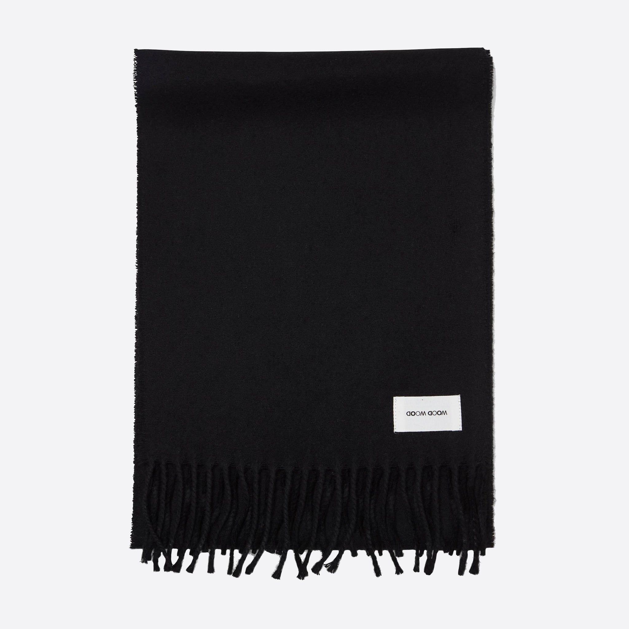 Wood Wood Karlo Scarf in Black
