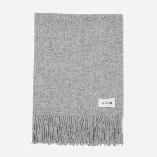 Wood Wood Karlo Scarf in Light Grey