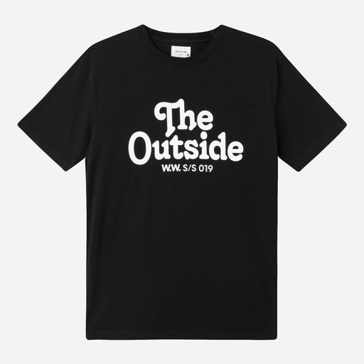 Wood Wood 'The Outside' T-shirt in Black
