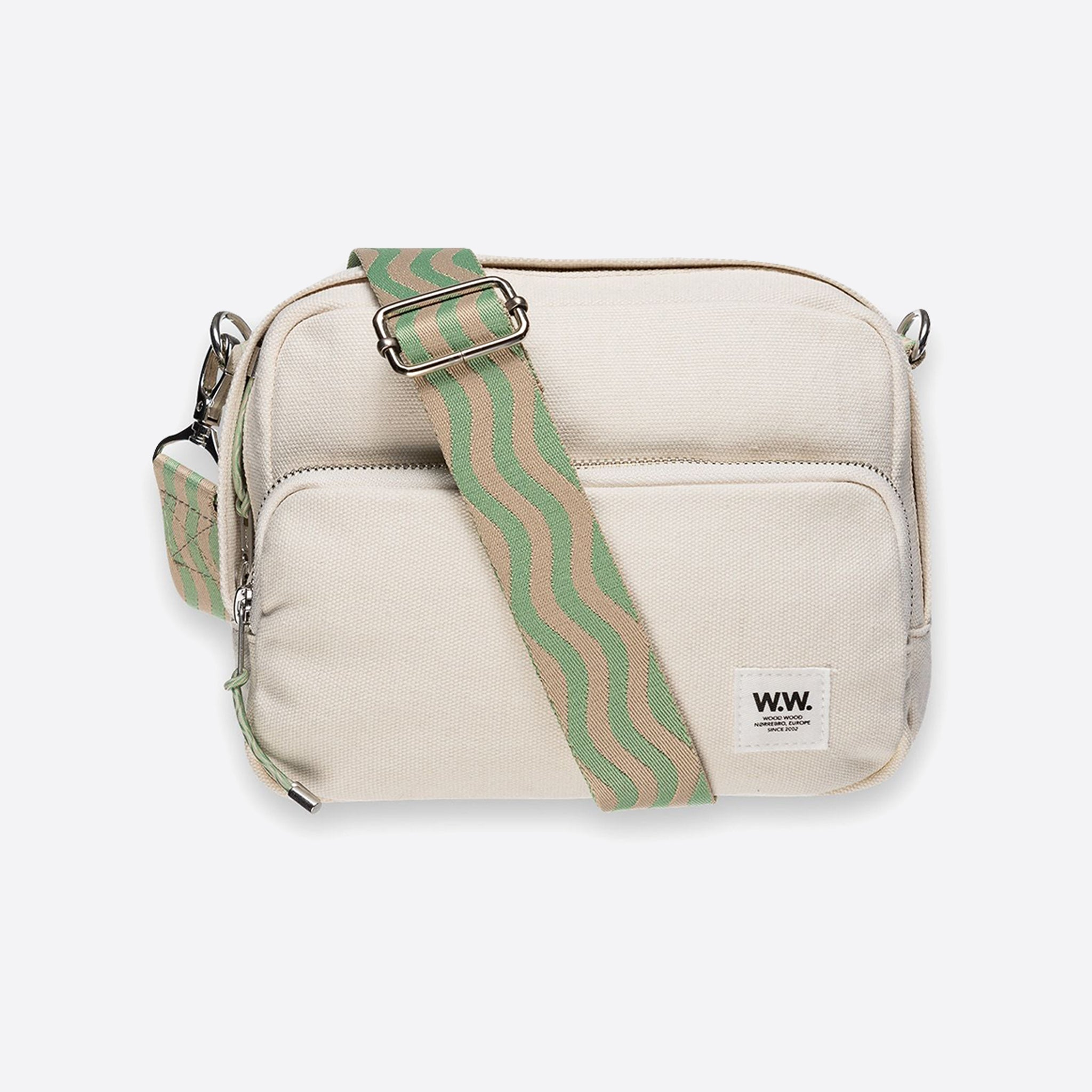 Wood Wood Marlo Shoulder Bag in Off White