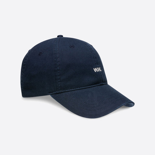 Wood Wood Low Profile Cap in Navy
