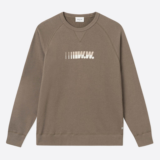 Wood Wood Hester Sweatshirt in Moss