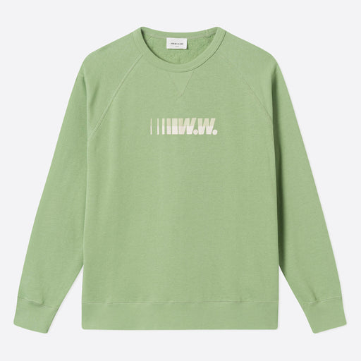 Wood Wood Hester Sweatshirt in Dusty Green