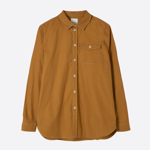 Wood Wood Aske Shirt in Mustard