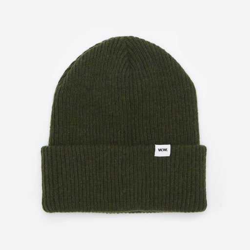 Wood Wood Mande Beanie in Green
