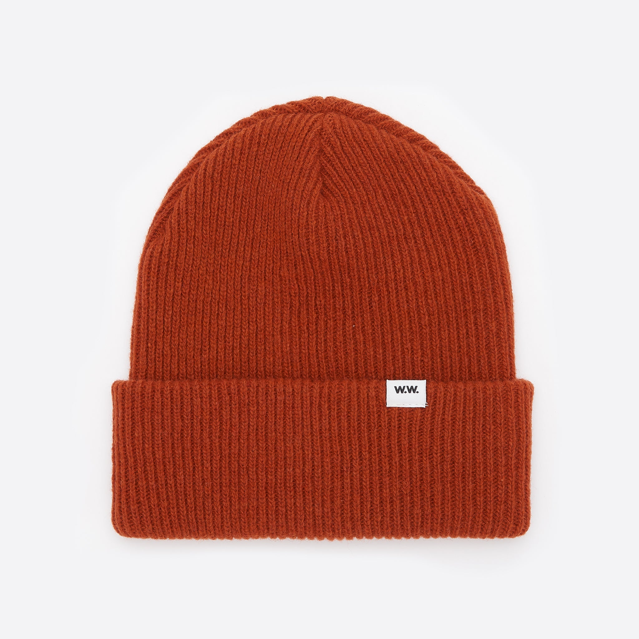 Wood Wood Mande Beanie in Orange
