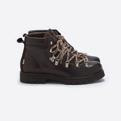 Wood Wood Benny Boot in Dark Brown