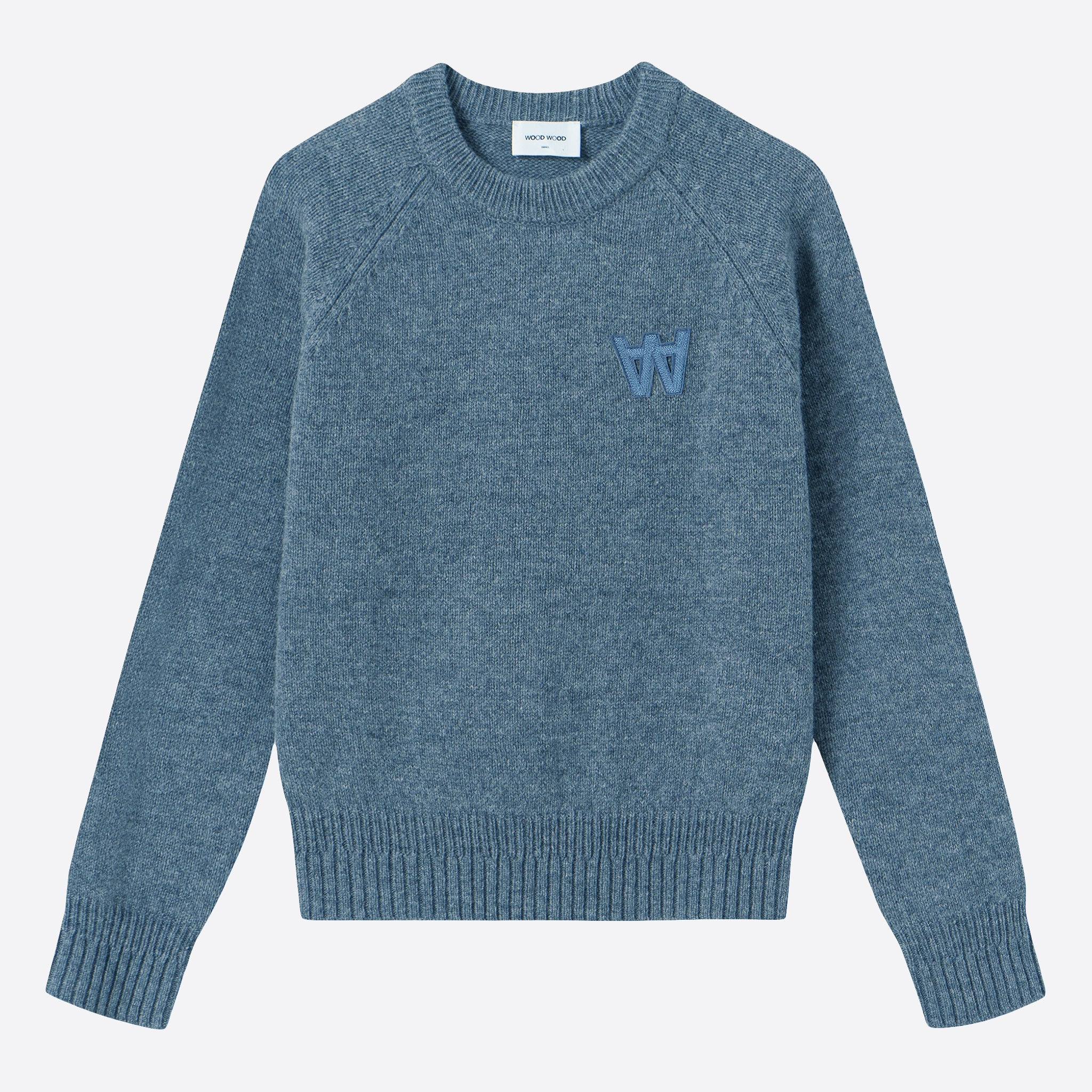 Wood Wood Asta Sweater in Dusty Blue