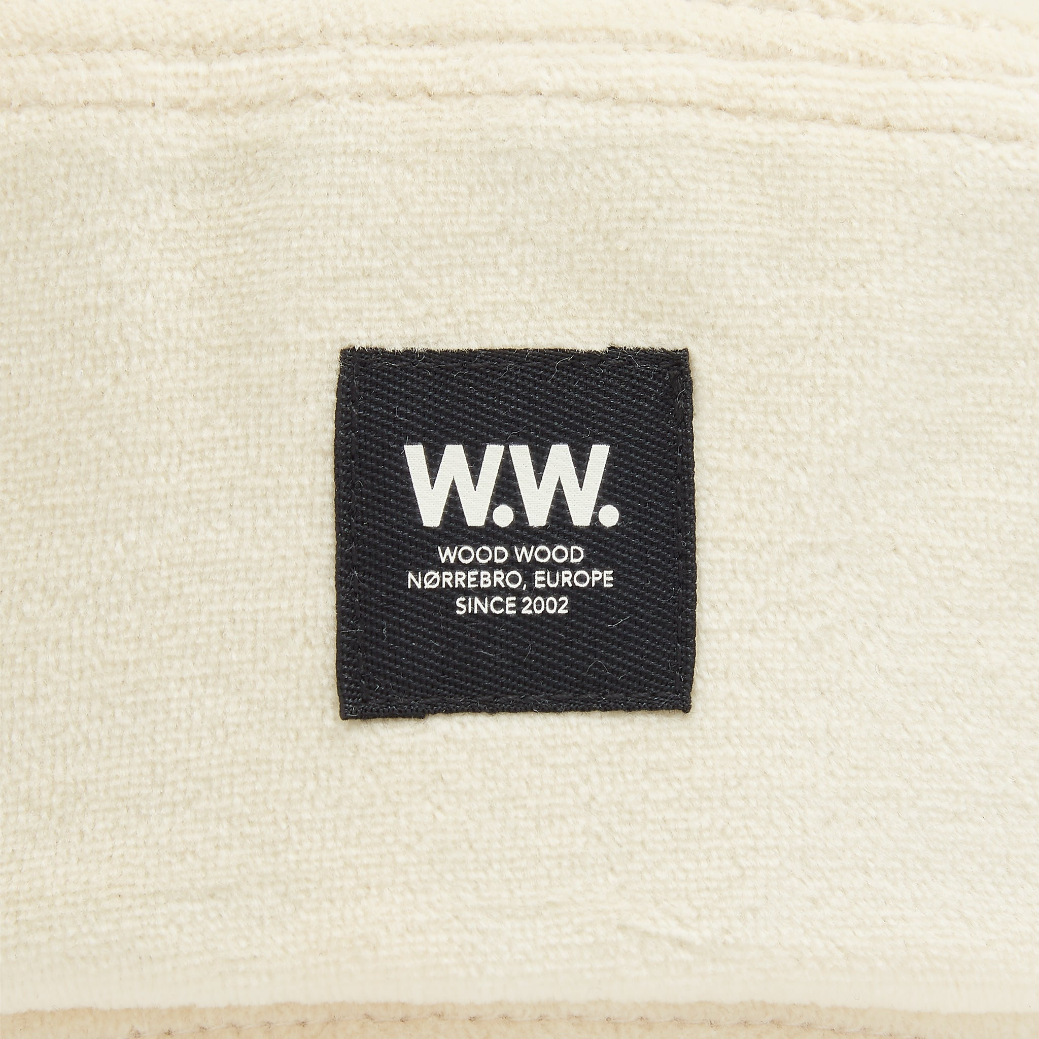 Wood Wood Bucket Hat in Off White