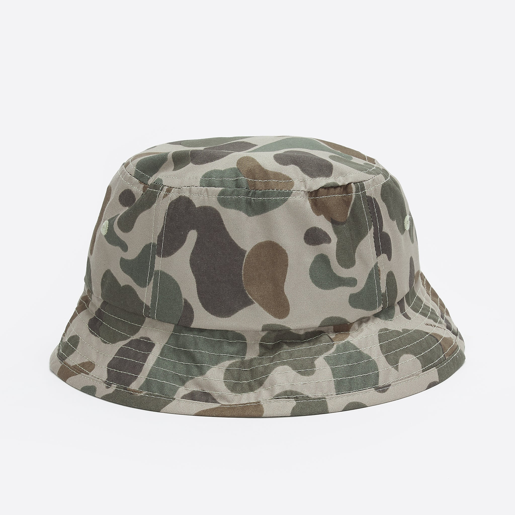 Wood Wood Bucket Hat in Taupe Camo