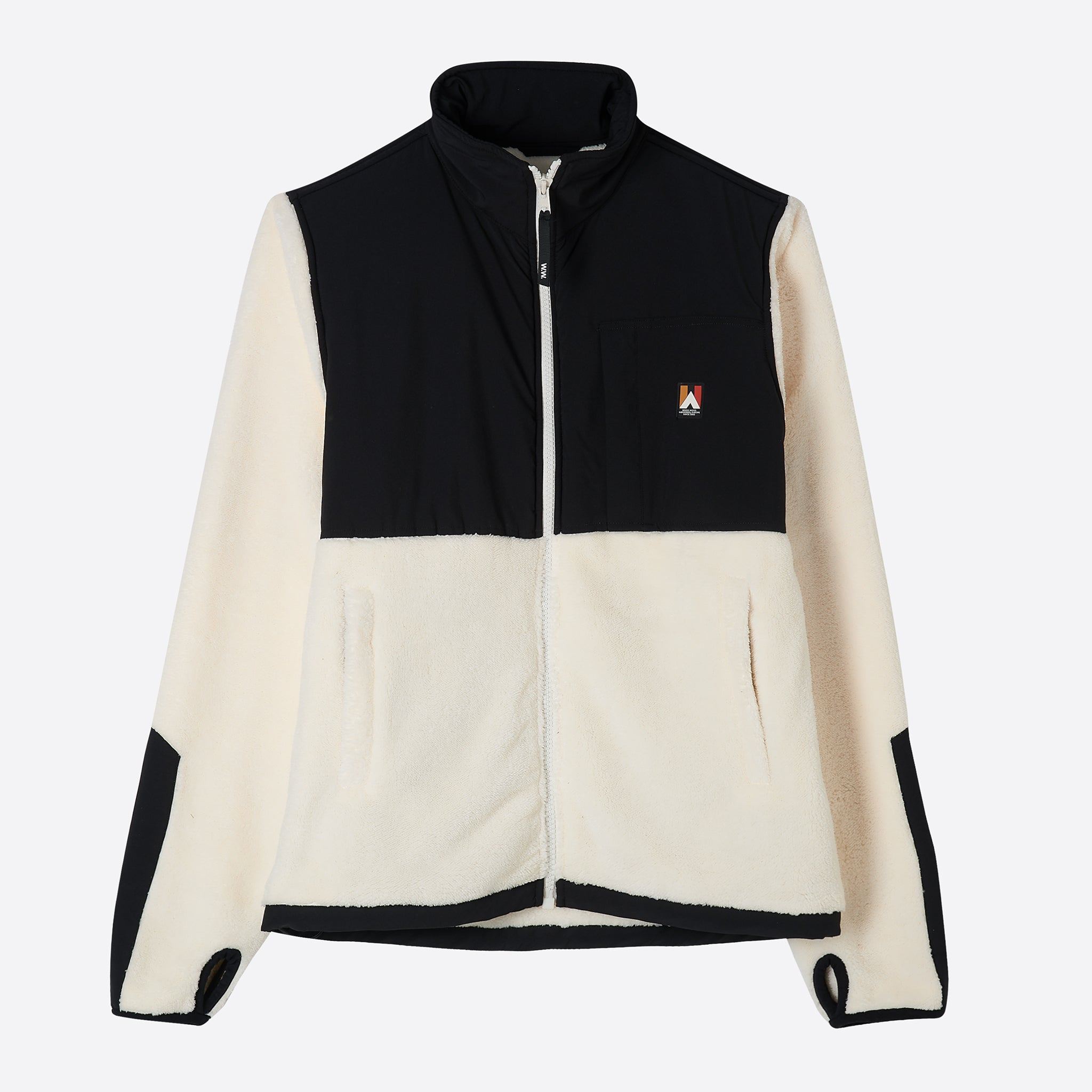 Wood Wood Hannes Jacket in Off White