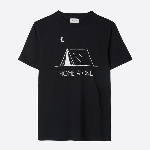 Wood Wood 'Home Alone' T-Shirt In Black