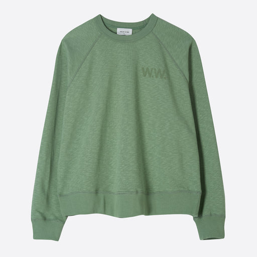 Wood Wood Jerri Sweatshirt in Dusty Green
