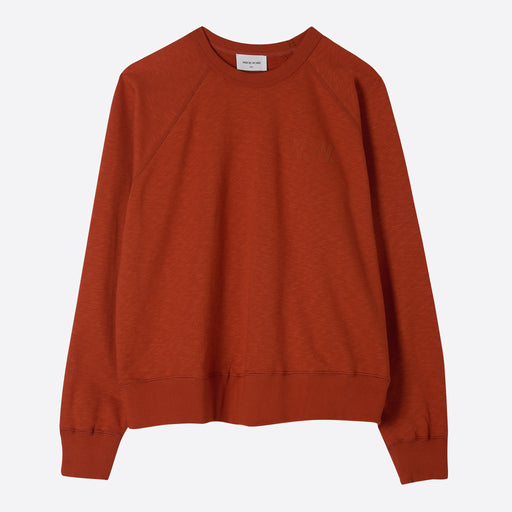 Wood Wood Jerri Sweatshirt in Rust