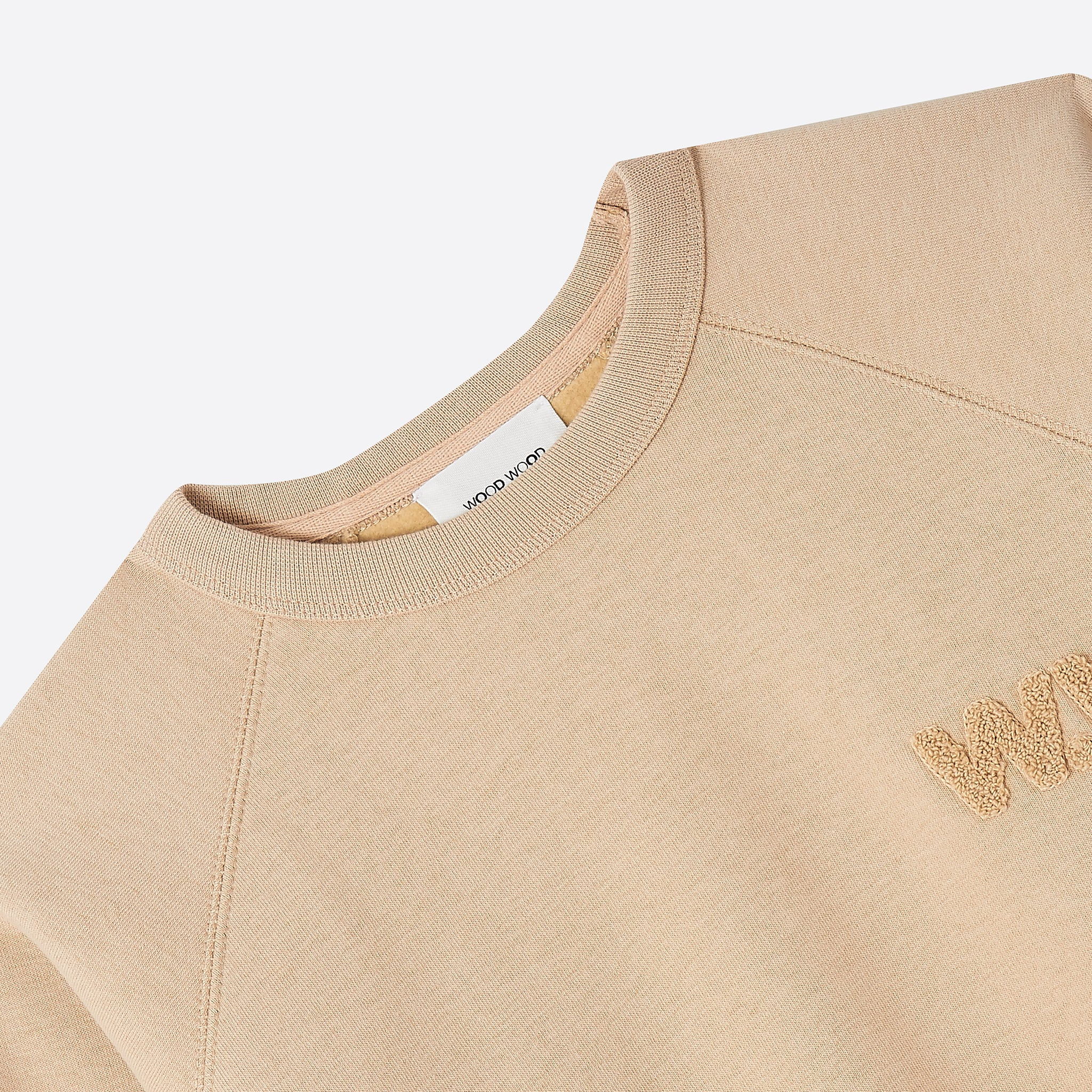 Wood Wood Jerri Sweatshirt in Light khaki