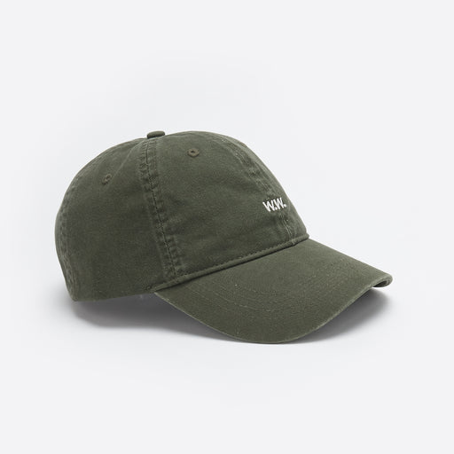 Wood Wood Low Profile Cap in Moss