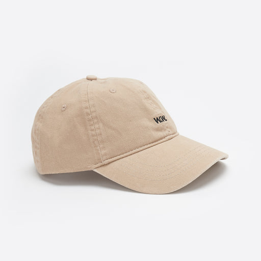 Wood Wood Low Profile Cap in Taupe