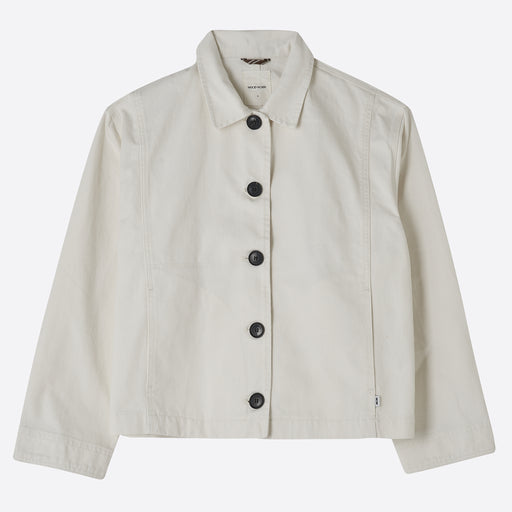 Wood Wood Osa Jacket in Off White