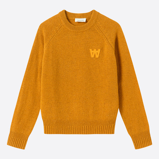 Wood Wood Asta Sweater in Mustard