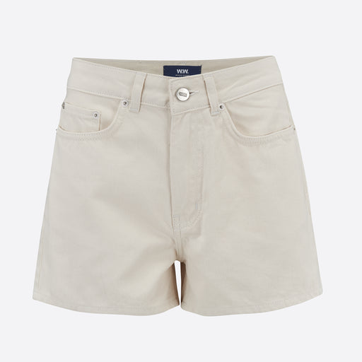 Wood Wood Oda Shorts in Off White