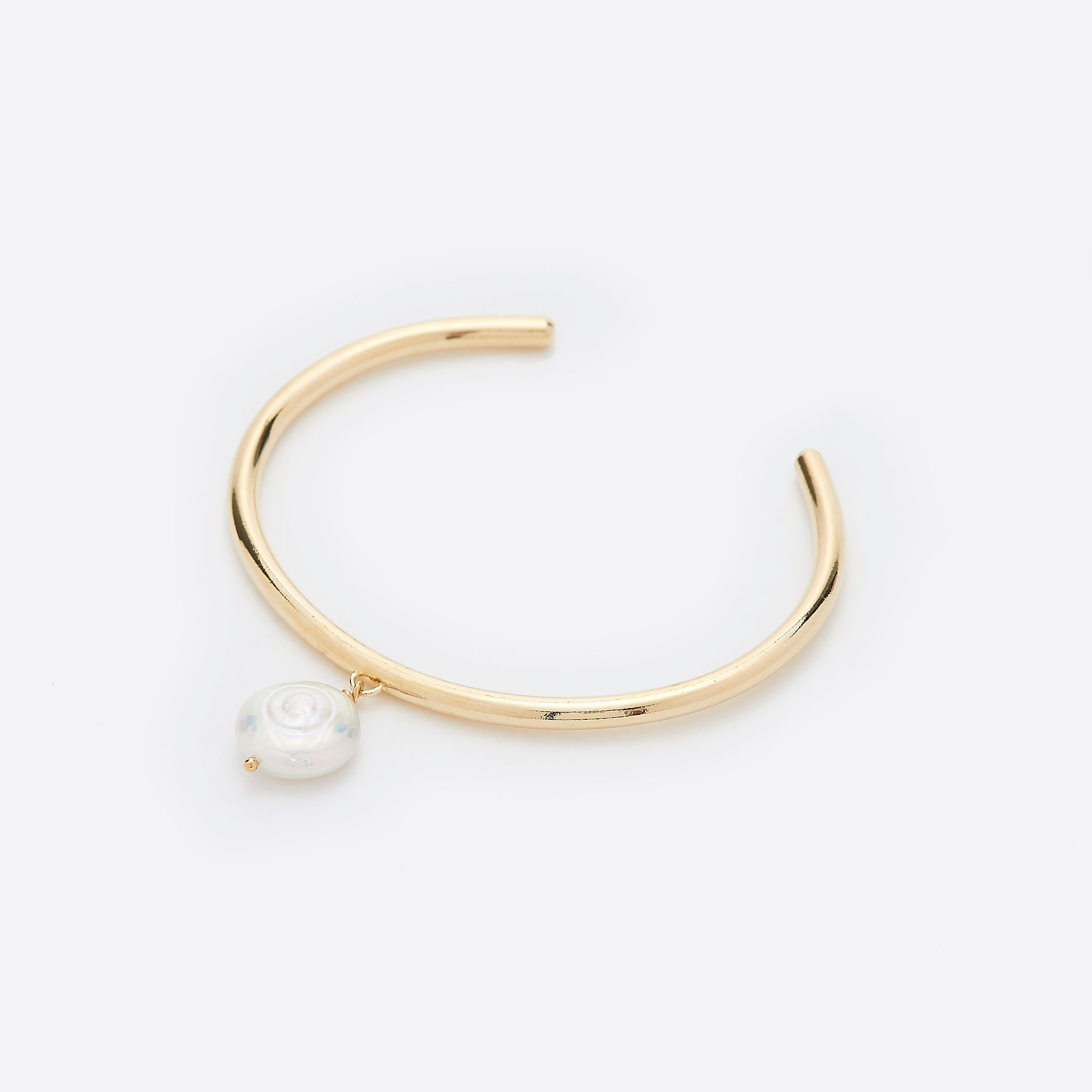 Young Frankk Coin Pearl Cuff