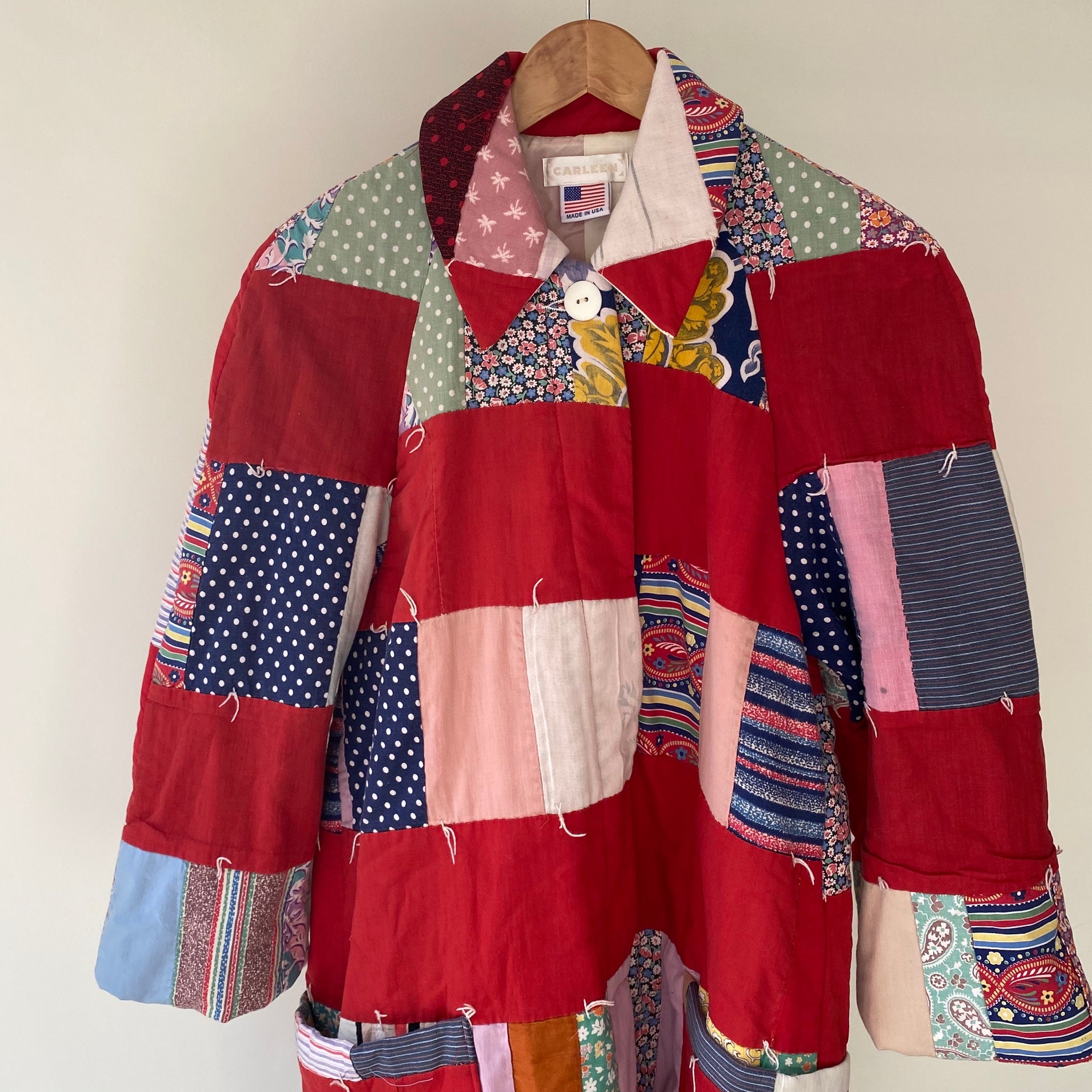 Carleen Raglan Quilt Coat in Medium