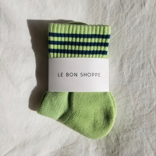 Le Bon Shoppe Girlfriend Socks in Pistachio