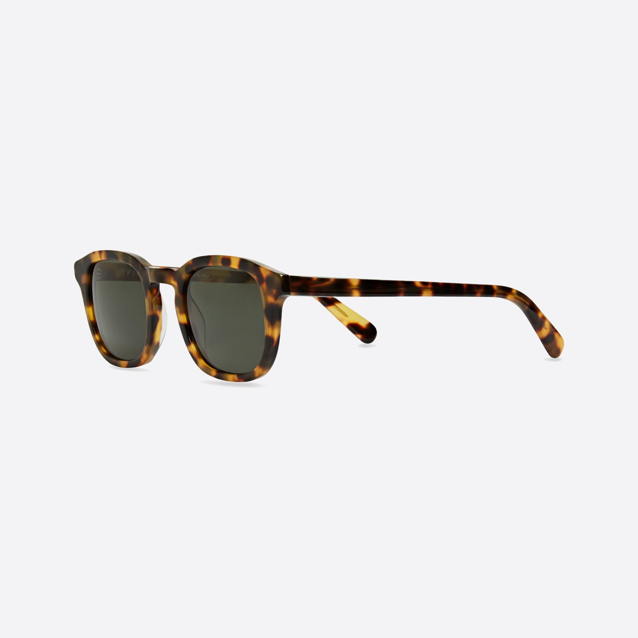 FINLAY London Douglas Light Tortoise with Green Lenses